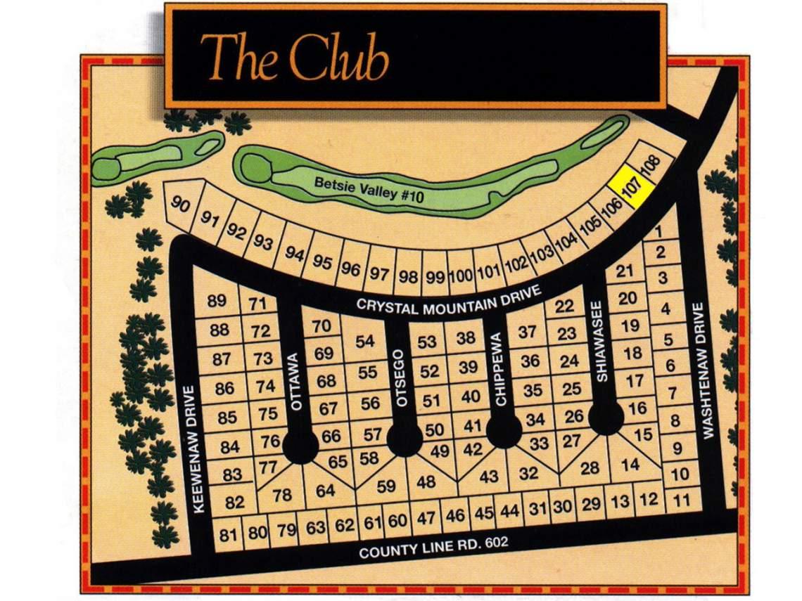 Club Site Map